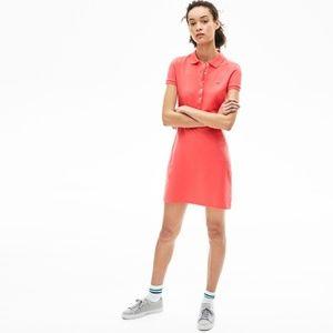 Lacoste Women Polo Dress Short Sleeve